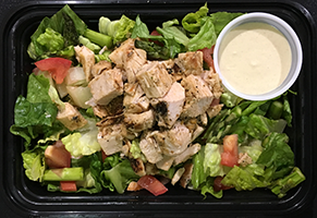 chicken ceaser salad paleo food delivery hampton roads